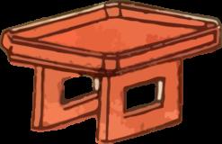 膳の浮世絵ダウンロード素材