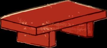 寿司やのまな板の浮世絵ダウンロード素材