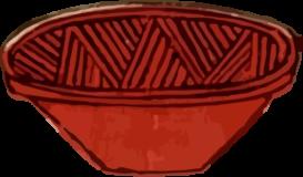 すり鉢の浮世絵ダウンロード素材
