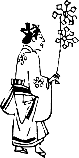 Free illustration of pinwheel and child