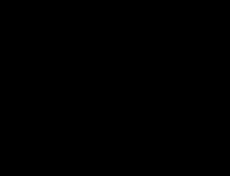 男性を縛り上げる2人の烏天狗の戯画素材